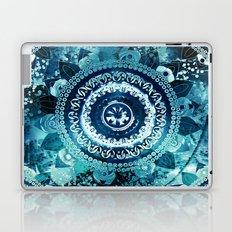 Teal Sea Mandala Laptop & iPad Skin
