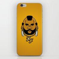 foo' fighter. iPhone & iPod Skin