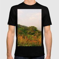 Scenic Steep Mens Fitted Tee Black SMALL