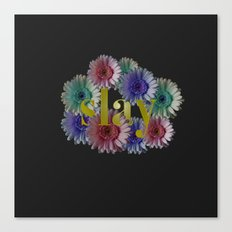 slay Canvas Print