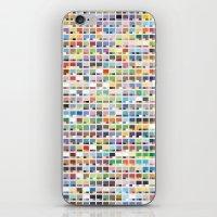Complete Poke-Pantone  iPhone & iPod Skin