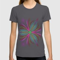 Star Womens Fitted Tee Asphalt SMALL