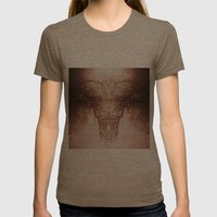 branches#02 Womens Fitted Tee Tri-Coffee SMALL