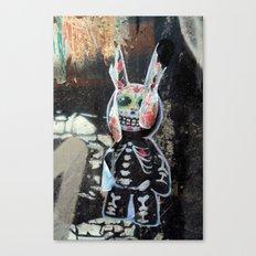 Dead bunny Canvas Print