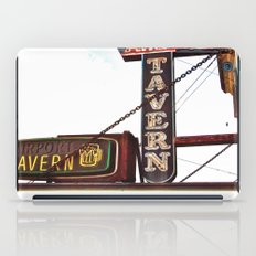 Airport tavern sign iPad Case