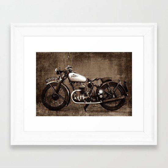 Puch S4 Framed Art Print