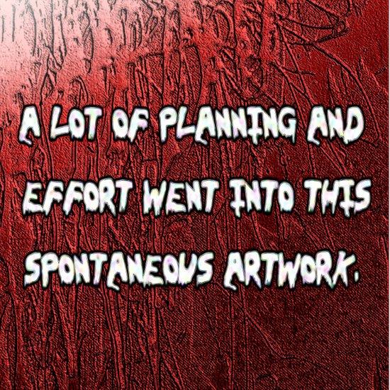 spontaneous Art Print