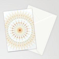 Rose Gold Blue Cream Mandala Stationery Cards