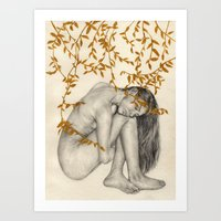 The Fragility Of Being H… Art Print