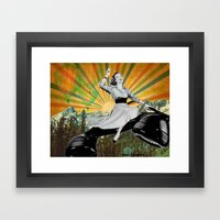 To infinity and beyond! Framed Art Print