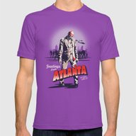 No Place Like It! Mens Fitted Tee Ultraviolet SMALL