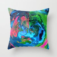 Earthly Throw Pillow