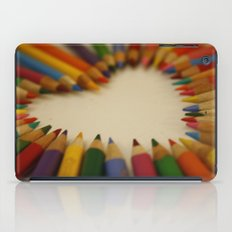 you color my world  iPad Case