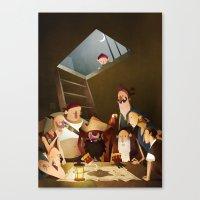 Secret Treasure Canvas Print