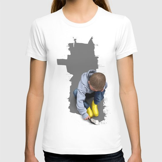 To Live with No Thought for the Future T-shirt