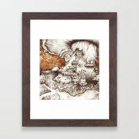 Muscaria Framed Art Print