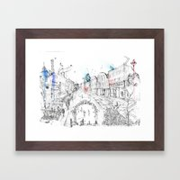 Brick Lane Framed Art Print