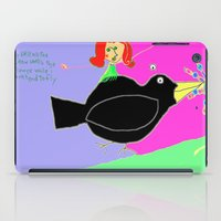 Wimsy And The Crow iPad Case