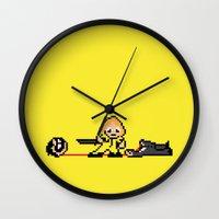 Kill Pixel Bill  Wall Clock