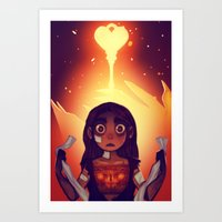 Wrathia's Heart Art Print