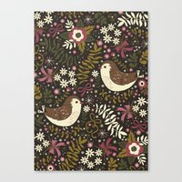 Sweet Robins Canvas Print