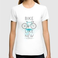 bike T-shirts featuring bike by CLOD