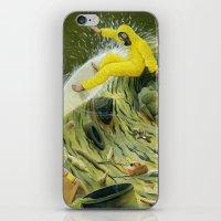 Coastal Pollution iPhone & iPod Skin