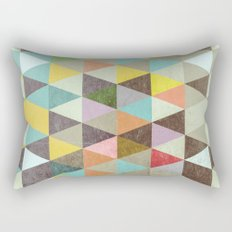 Triangles XXI Rectangular Pillow