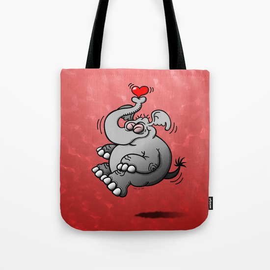 Fly me to the Moon Elephant Tote Bag