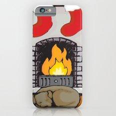 Canine Christmas (Fireside) iPhone 6 Slim Case