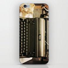 You never write... iPhone & iPod Skin