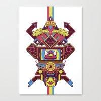 Acid Memories #2 Canvas Print