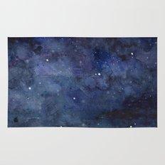 Night Sky Stars Galaxy |… Rug
