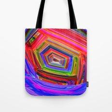 Spectrum Tunnel Tote Bag