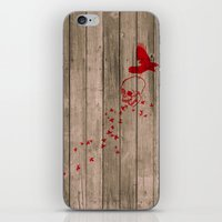 And the birds shall feast... iPhone & iPod Skin