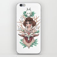 The princess of the avenging spirits iPhone & iPod Skin
