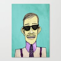 The Dapper Canvas Print