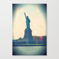 State of Liberty Canvas Print