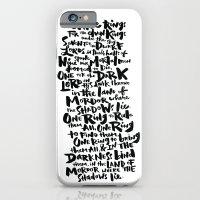One Ring  iPhone 6 Slim Case