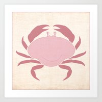 Crab - Under The Sea Ser… Art Print