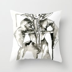 Your Majesty Throw Pillow