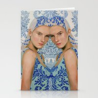 Ice By Alex Garant Stationery Cards