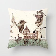 Venice Acqua alta Throw Pillow