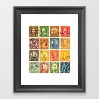 Pre History Of Pop Art Framed Art Print