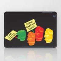 Stop Gummibear Cruelty! iPad Case