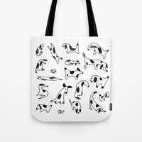 Spotty dogs Tote Bag