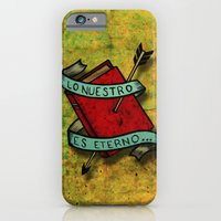 iPhone & iPod Case featuring Ours is eternal by Fhil Navarro