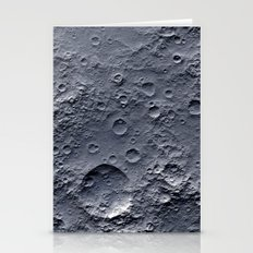 Moon Surface Stationery Cards