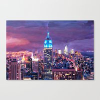 Empire State Building Fe… Canvas Print