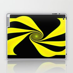 Abstract. Yellow+Black. Laptop & iPad Skin